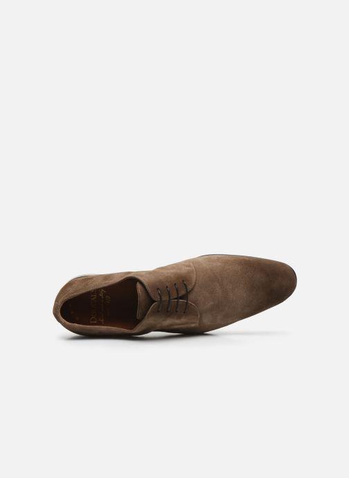 Chaussures à lacets Doucal's BORYS Marron vue gauche