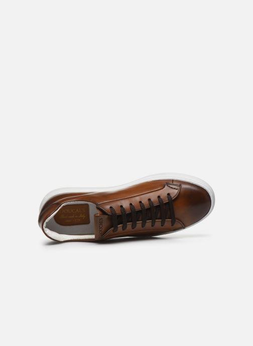 Sneaker Doucal's MARIN braun ansicht von links