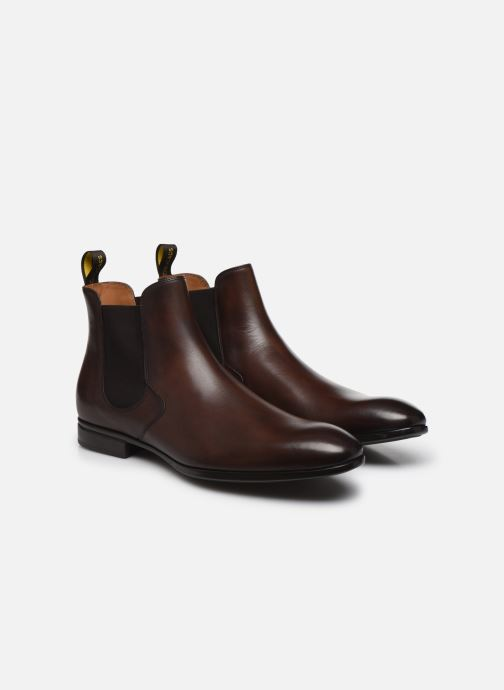 Boots en enkellaarsjes Doucal's CHURROS Bruin 3/4'
