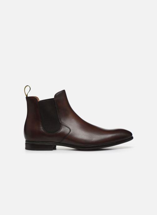 Boots en enkellaarsjes Doucal's CHURROS Bruin achterkant