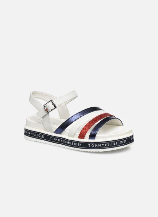 Sandales et nu-pieds Tommy Hilfiger Platform Sandal Blanc vue détail/paire