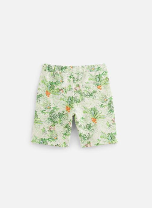 Vêtements Arsène et les Pipelettes Bermuda Samir Vert vue bas / vue portée sac