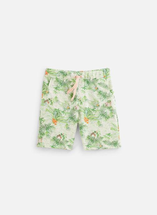Vêtements Arsène et les Pipelettes Bermuda Samir Vert vue détail/paire