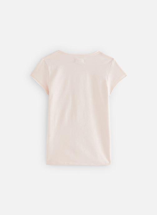 Vêtements Arsène et les Pipelettes T-shirt Sandrine Rose vue bas / vue portée sac