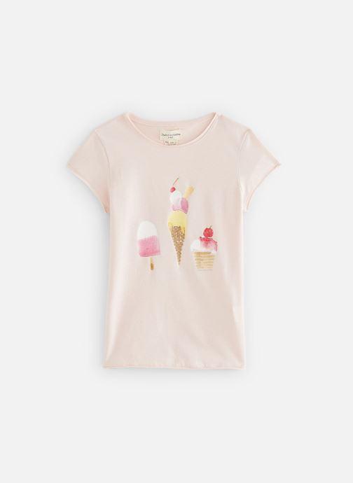 Vêtements Arsène et les Pipelettes T-shirt Sandrine Rose vue détail/paire