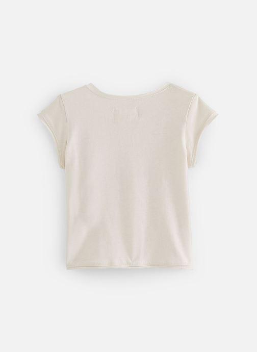 Vêtements Arsène et les Pipelettes T-shirt Sona Beige vue bas / vue portée sac