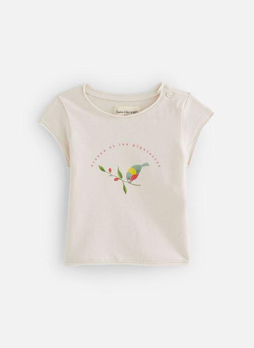 Vêtements Arsène et les Pipelettes T-shirt Sona Beige vue détail/paire