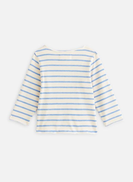 Vêtements Arsène et les Pipelettes T-shirt Serres Blanc vue bas / vue portée sac