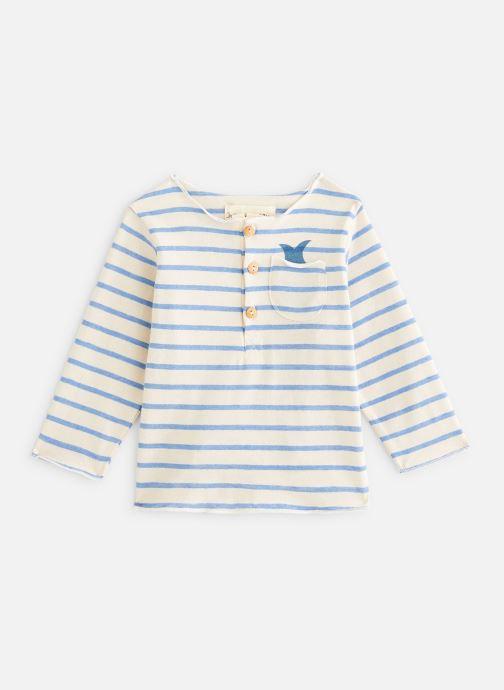 Vêtements Arsène et les Pipelettes T-shirt Serres Blanc vue détail/paire