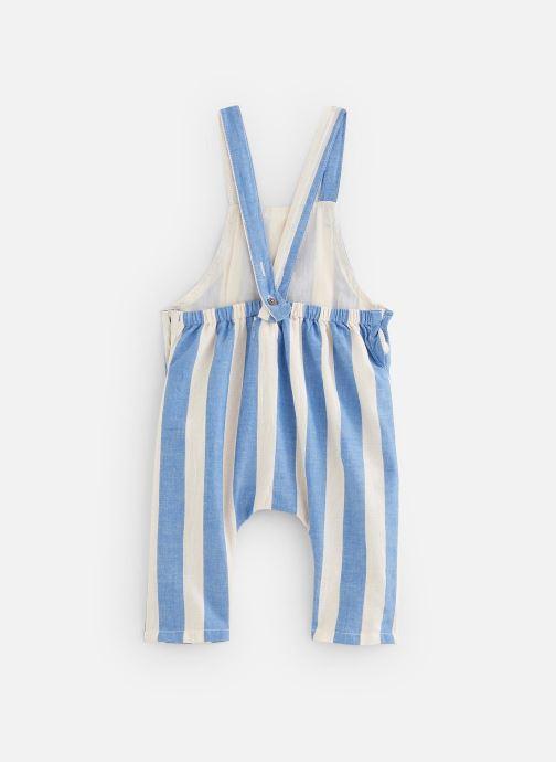 Vêtements Arsène et les Pipelettes Salopette Sanson Bleu vue bas / vue portée sac