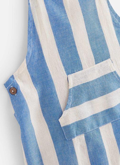 Vêtements Arsène et les Pipelettes Salopette Sanson Bleu vue portées chaussures