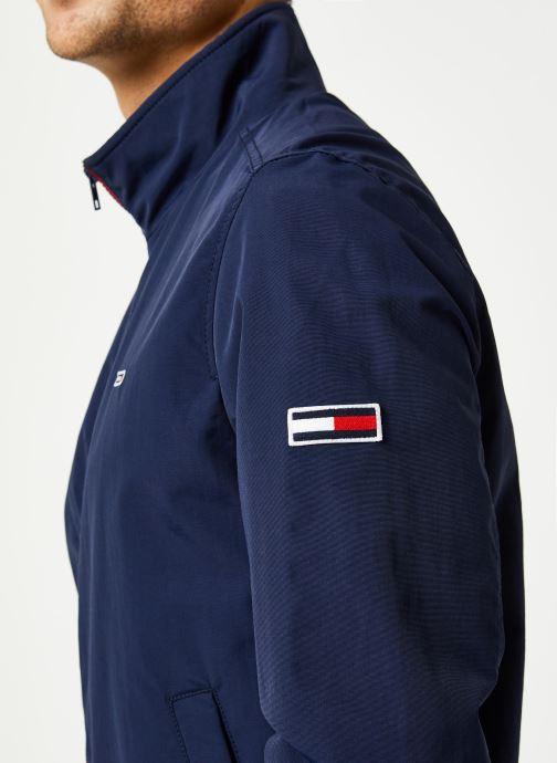 Vêtements Tommy Jeans TJM Essential Bomber Jacket Bleu vue face