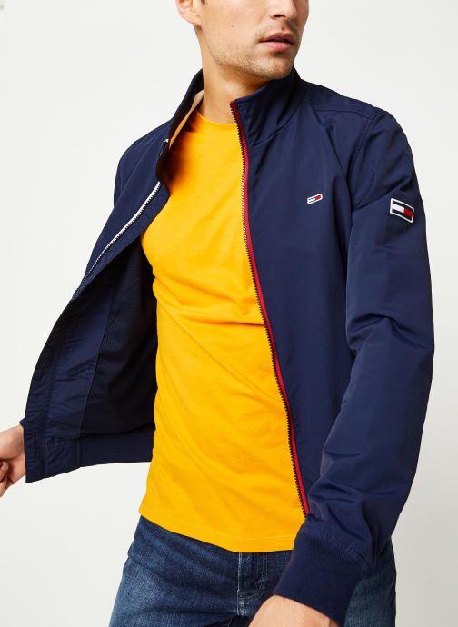 Vêtements Tommy Jeans TJM Essential Bomber Jacket Bleu vue droite