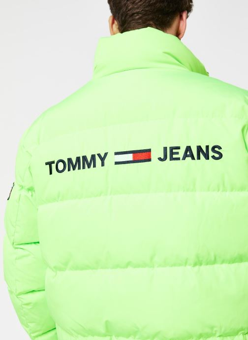 Vêtements Tommy Jeans TJM Reversible Jacket Jaune vue face
