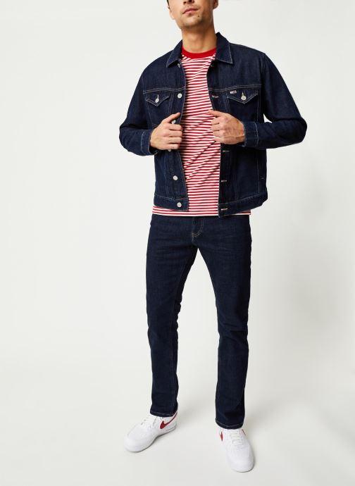 Tøj Tommy Jeans Scanton Slim Vrckr Blå se forneden