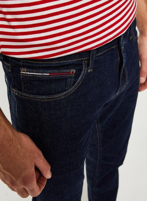 Tøj Tommy Jeans Scanton Slim Vrckr Blå se forfra
