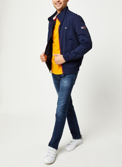 Vêtements Tommy Jeans Scanton Slim Nsudk Bleu vue bas / vue portée sac