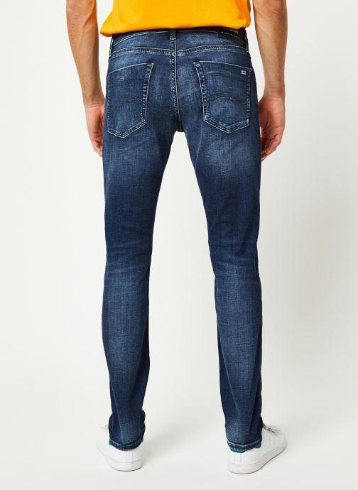 Vêtements Tommy Jeans Scanton Slim Nsudk Bleu vue portées chaussures