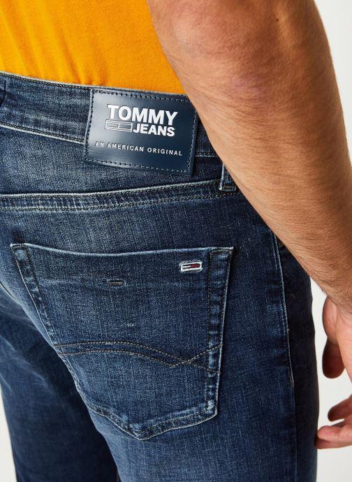 Vêtements Tommy Jeans Scanton Slim Nsudk Bleu vue face
