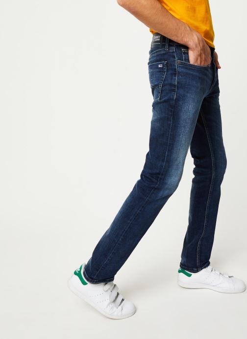 Vêtements Tommy Jeans Scanton Slim Nsudk Bleu vue détail/paire