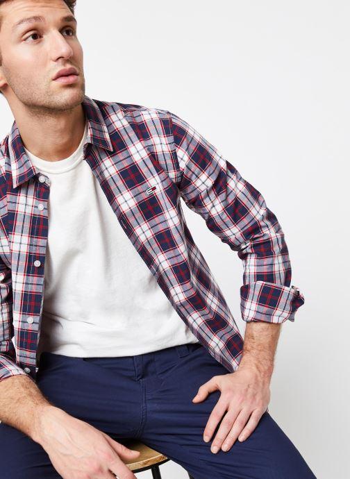 TJM Poplin Multi Check Shirt