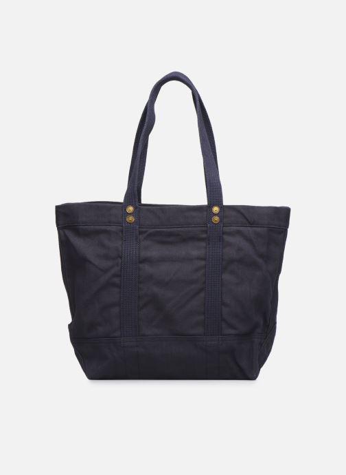 Handtaschen Polo Ralph Lauren PP TOTE ZIPCANVAS blau ansicht von vorne
