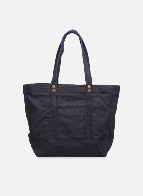 Handbags Polo Ralph Lauren PP TOTE ZIPCANVAS Blue front view
