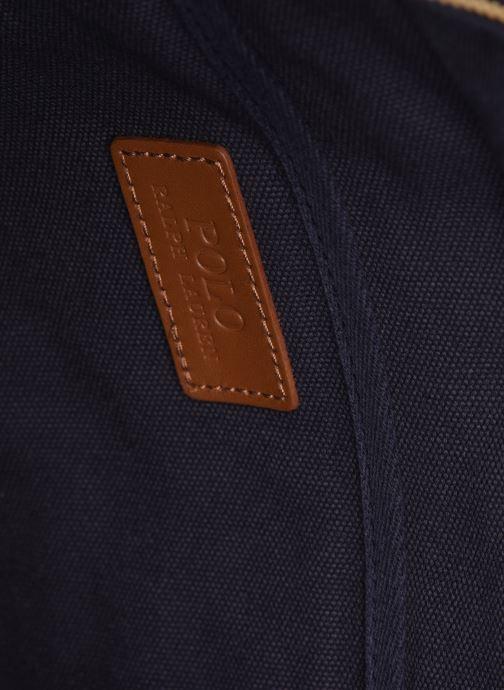 Handbags Polo Ralph Lauren PP TOTE ZIPCANVAS Blue back view