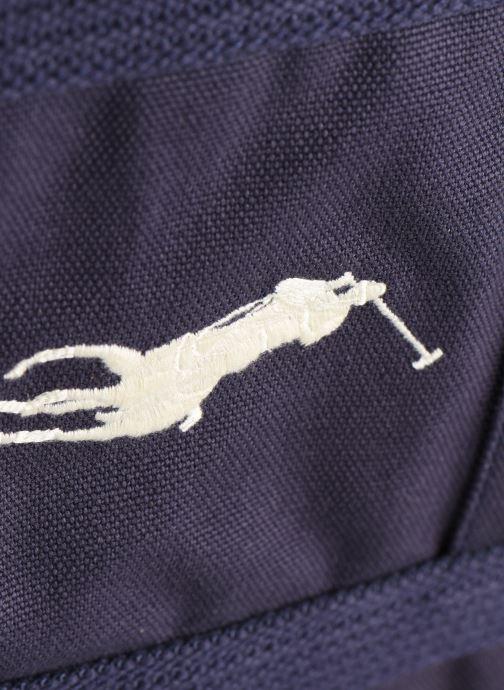 Handbags Polo Ralph Lauren PP TOTE ZIPCANVAS Blue view from the left