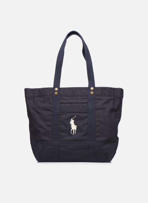 Sacs à main Polo Ralph Lauren PP TOTE ZIPCANVAS Bleu vue détail/paire