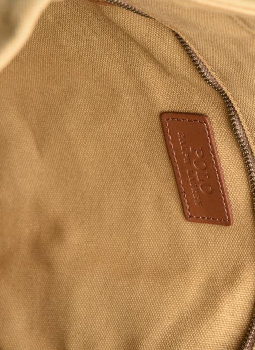 Handbags Polo Ralph Lauren PP TOTE ZIPCANVAS Brown back view