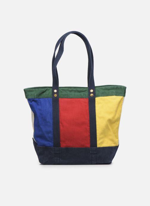 Sacs à main Polo Ralph Lauren MEDIUM PP TOTE ZIP COLOR BLOCK Multicolore vue face