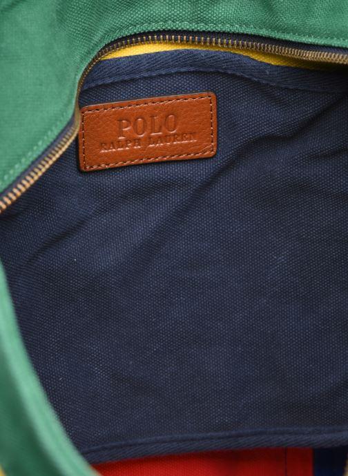 Sacs à main Polo Ralph Lauren MEDIUM PP TOTE ZIP COLOR BLOCK Multicolore vue derrière