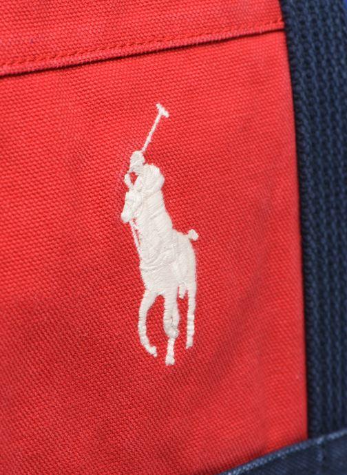 Sacs à main Polo Ralph Lauren MEDIUM PP TOTE ZIP COLOR BLOCK Multicolore vue gauche