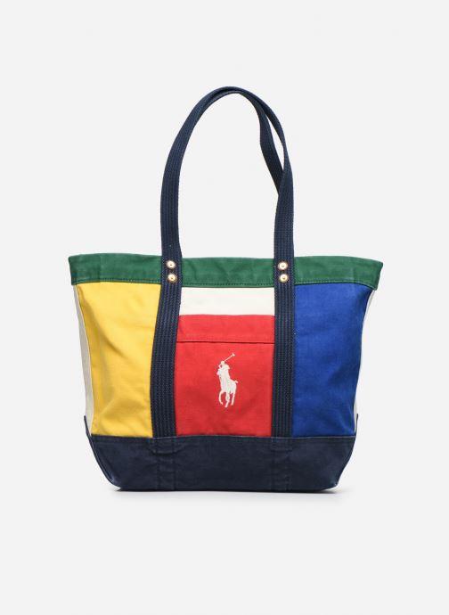 Sacs à main Polo Ralph Lauren MEDIUM PP TOTE ZIP COLOR BLOCK Multicolore vue détail/paire