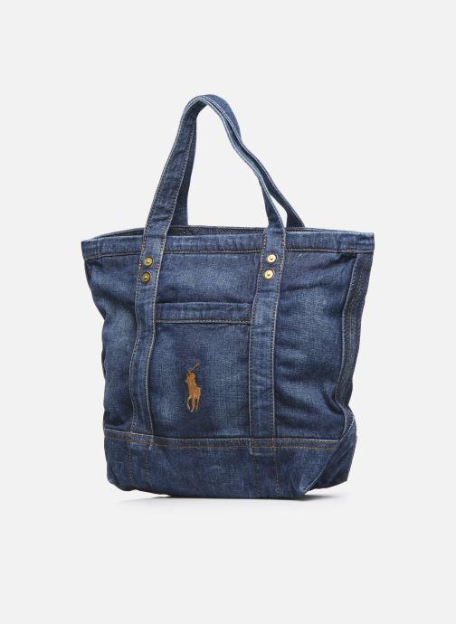 Handbags Polo Ralph Lauren SMALL PP TOTE Blue model view