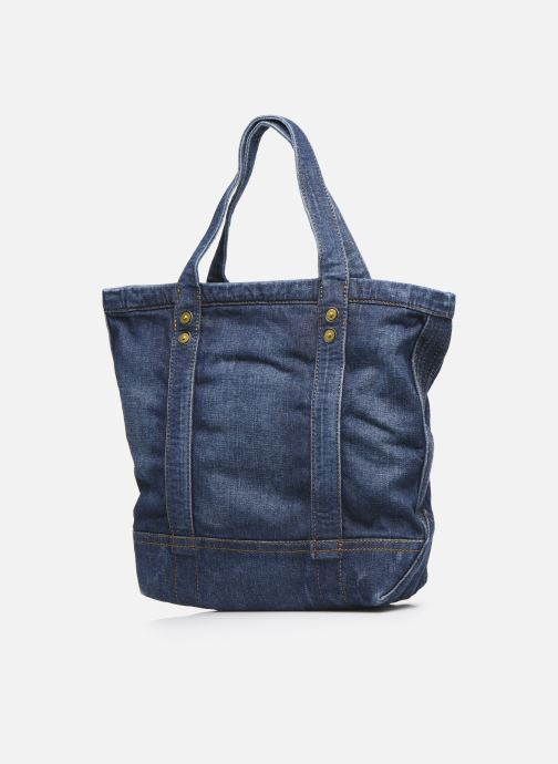 Handbags Polo Ralph Lauren SMALL PP TOTE Blue view from the right