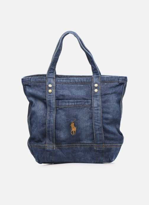 Handbags Polo Ralph Lauren SMALL PP TOTE Blue detailed view/ Pair view