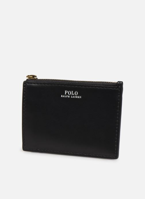 Wallets & cases Polo Ralph Lauren ZIP CC CARD SMALL Black model view