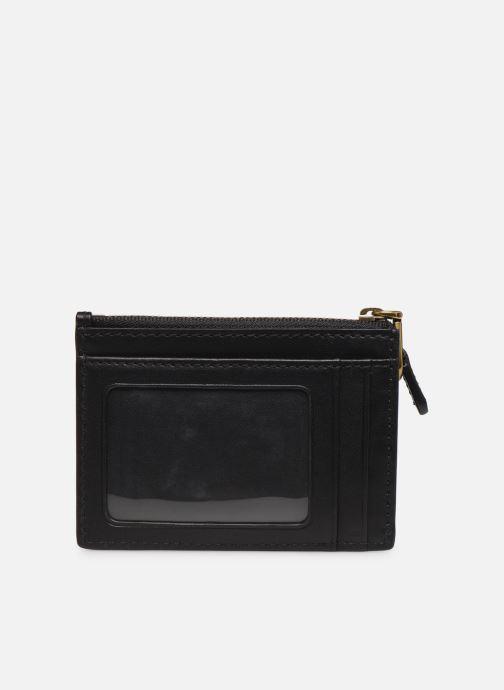 Marroquinería pequeña Polo Ralph Lauren ZIP CC CARD SMALL Negro vista de frente