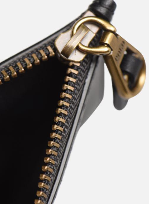 Marroquinería pequeña Polo Ralph Lauren ZIP CC CARD SMALL Negro vistra trasera