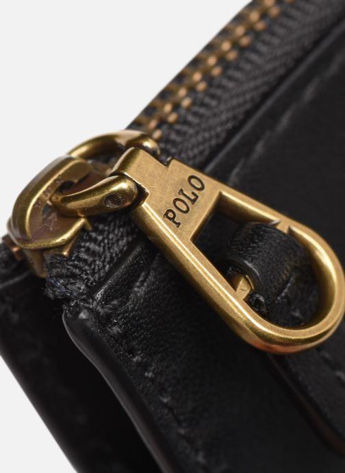 Marroquinería pequeña Polo Ralph Lauren ZIP CC CARD SMALL Negro vista lateral izquierda