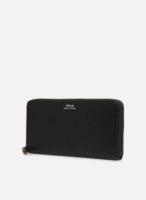 Wallets & cases Polo Ralph Lauren LONG ZIP WALLET Black model view