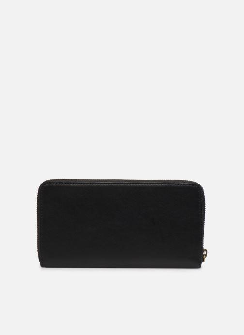 Wallets & cases Polo Ralph Lauren LONG ZIP WALLET Black front view