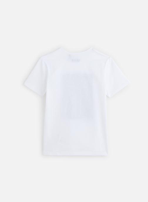 Kleding IKKS JUNIOR  T-shirt MC XQ10123 Wit onder