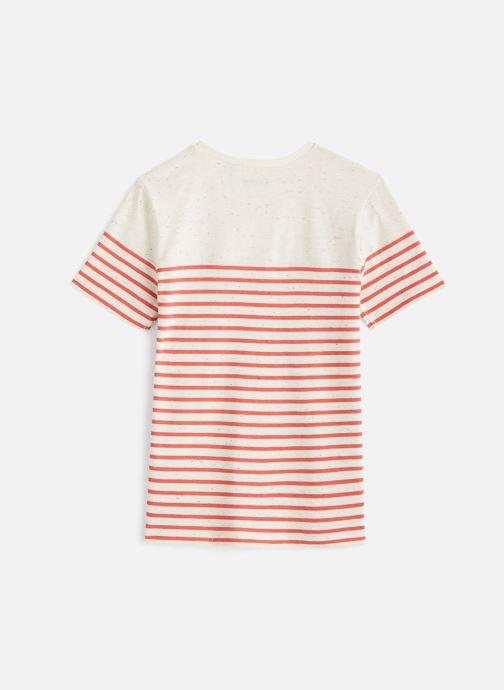 Vêtements IKKS JUNIOR  T-shirt MC XQ10213 Orange vue bas / vue portée sac