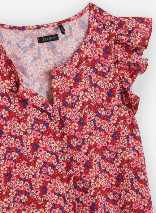 Vêtements IKKS JUNIOR  Top XQ12012 Rose vue portées chaussures
