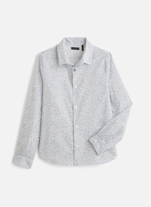 Vêtements IKKS JUNIOR  Chemise ML XQ12033 Blanc vue détail/paire