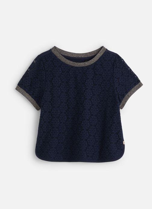 Vêtements IKKS JUNIOR  Top MC XQ12122 Bleu vue détail/paire