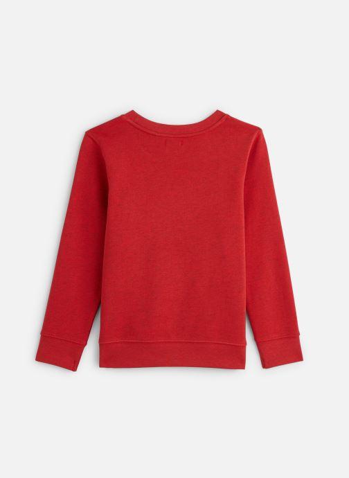 Vêtements IKKS JUNIOR  Sweatshirt XQ15003 Rouge vue bas / vue portée sac